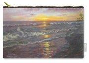Miller Ocean Sunset Carry-all Pouch