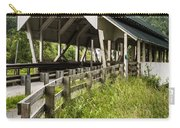 Millers Run Covered Bridge Carry-all Pouch by Edward Fielding