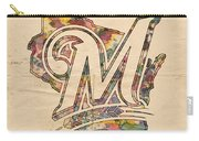 Milwaukee Brewers Poster Art Carry-all Pouch