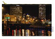 Milwaukee River And Downtown Skyline Carry-all Pouch