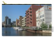 Milwaukee River Architechture 1 Carry-all Pouch