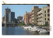 Milwaukee River Architecture 2 Carry-all Pouch
