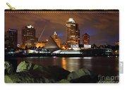 Milwaukee Skyline At Dusk Carry-all Pouch