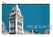 Milwaukee Skyline City Hall - Steel Carry-all Pouch