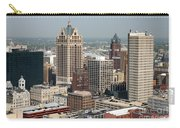 Milwaukee Wisconsin Skyline Aerial Carry-all Pouch