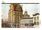 Milwaukee's Wisconsin Street 1899 Carry-all Pouch
