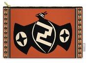 Mimbres Tribal Bat Spirit Carry-all Pouch