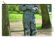 Mime In A Park In Tallinn-estonia Carry-all Pouch
