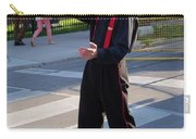 Mime Performer On The Street Carry-all Pouch