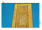 Minaret For Call To Prayer In Tangiers-morocco Carry-all Pouch