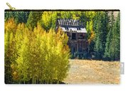 Mine Shack In Aspens Carry-all Pouch