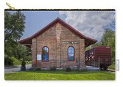 Mineral Bluff Station Carry-all Pouch by Debra and Dave Vanderlaan