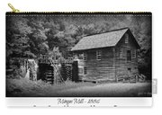 Mingus Mill -- Black And White Poster Carry-all Pouch