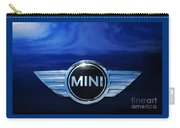 Mini Blue Carry-all Pouch