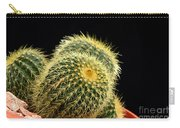 Mini Cactus In A Pot Carry-all Pouch