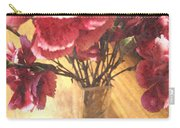 Mini Carnation Bouquet Carry-all Pouch