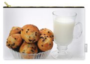 Mini Chocolate Chip Muffins And Milk - Bakery - Snack - Dairy - 1 Carry-all Pouch