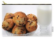 Mini Chocolate Chip Muffins And Milk - Bakery - Snack - Dairy - 2 Carry-all Pouch