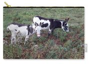 Mini Donkeys Carry-all Pouch