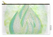 Mini Forest With Birds In Flight - Illustration Carry-all Pouch