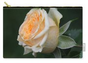 Miniature Rose In The Rain Carry-all Pouch