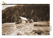 Mining House In Black And White Carry-all Pouch
