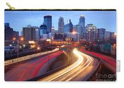 Minneapolis Skyline At Dusk Early Evening Carry-all Pouch