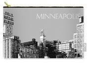 Minneapolis Skyline Mill City Museum - Silver Carry-all Pouch