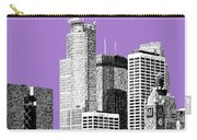 Minneapolis Skyline - Violet  Carry-all Pouch