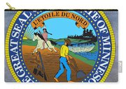 Minnesota State Seal Carry-all Pouch