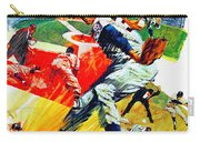 Minnesota Twins 1968 Yearbook Artwork Carry-all Pouch