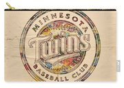 Minnesota Twins Logo Vintage Carry-all Pouch