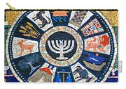 Minorah Mosaic Carry-all Pouch