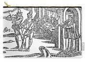 Minstrels, 17th Century Carry-all Pouch