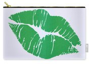 Mint Green Kiss Carry-all Pouch