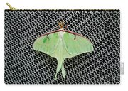 Mint Green Luna Moth Carry-all Pouch