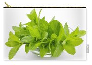 Mint Sprigs In Bowl Carry-all Pouch