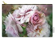 Miracle Of A Rose - Mauve Carry-all Pouch
