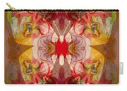 Miracles Can Happen Abstract Butterfly Artwork Carry-all Pouch