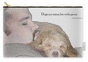 Miracles With Paws Carry-all Pouch