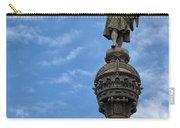 Mirador De Colom In Barcelona Carry-all Pouch