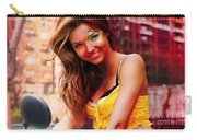 Miranda Kerr Painting Carry-all Pouch
