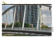 Fx1l820 Main Street Bridge In Front Of Miranova Carry-all Pouch