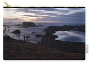 Mirror At Glass Beach Carry-all Pouch