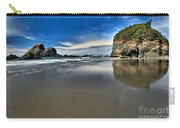 Mirror In The Sand Carry-all Pouch