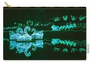Mirror Lake Reflections In Teal Carry-all Pouch