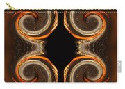 Mirrored Abstract Carry-all Pouch