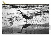 Mirrored Egret  Carry-all Pouch