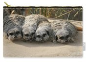 Mischievous Meerkats Carry-all Pouch
