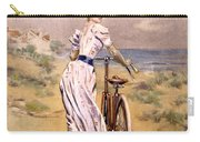 Miss Bicycle 1894 Carry-all Pouch